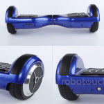 Hoverboard blue