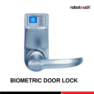 Robotouch Trinity LED Display Keyless Biometric Fingerprint + Door Lock Fingerprint+ Password + Key-0