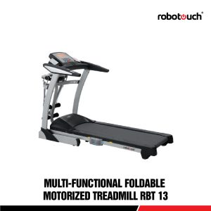 Robotouch RBT-13 Heavy Duty Motorised Fitness Exercise Treadmill For Home Gym - 2.75 HP Motor-0