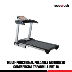 Robotouch RBT-18D Heavy Duty Motorised Commercial Grade Home Gym Treadmill With LCD Display - 3.75 HP Motor-0