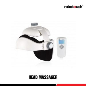 Robotouch Head Massager- Rechargeable Therapeutic Head Scalp Massager With Music - As Good As Human Touch - Easy To Carry-0