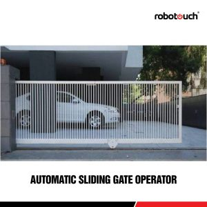 Robotouch Automatic Sliding Gate Operator - Supports Upto 1800 KGS Gate-0