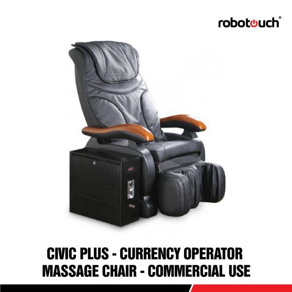 Robotouch Civic Plus Commercial Vending Currency Operated Automatic Massage Chair-0