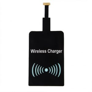 Qi Wireless Charger Charging Pad + Wireless Charging Receiver Module Chip for Samsung, Nexus, Sony xperia, Lenovo & Other Android mobiles (M1 White)-561