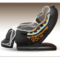 Robotouch Dreamline Intelligent 3-D Zero Gravity Massage Chair With Bluetooth,Android/IOS App,Magnetic Therapy - New Full Featured Luxury Shiatsu Chair - Color Black-677