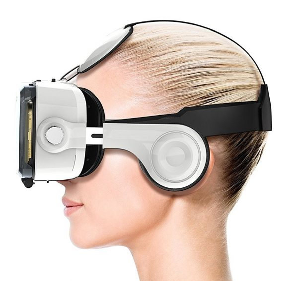RoboTouch VR PRO (New) VR Headset – 100-120 Degree FOV with Highest Immersive Experience – Inbuilt Headphones-0