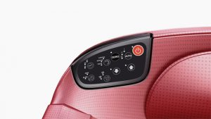 RoboTouch Divine Massage Sofa - Rose red-858