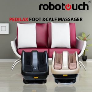 Robotouch Pedilax warm Ultimate Foot and Calf Massager-Gold-867