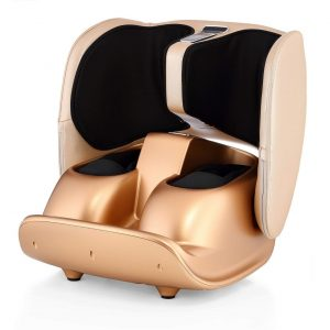 Robotouch Compact Foldable Leg and Foot Massager (Gold) -0