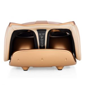 Robotouch Compact Foldable Leg and Foot Massager (Gold) -908