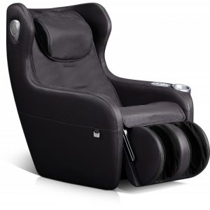Robotouch Relaxo Plus Massage Sofa With Foldable Footrest (Black)-924